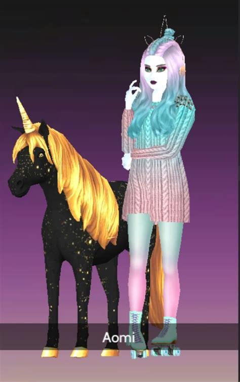 petkins avakin aomi unicorn