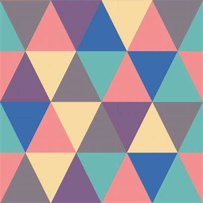 Colors Loop Pattern Triangles Giphy Graphic Animated