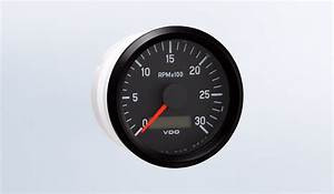 Cockpit International 3 000 Rpm 3 3  8 U0026quot   80mm  Tachometer