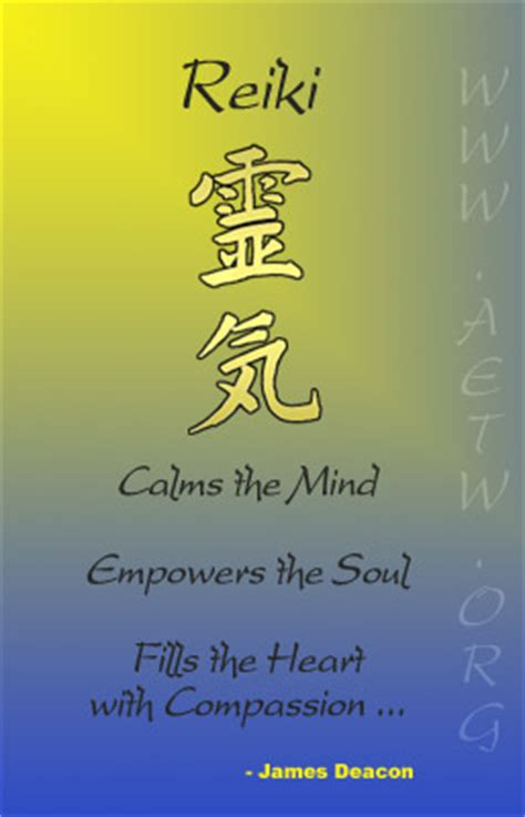 reiki energy quotes quotesgram