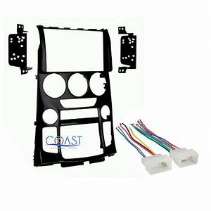 Car Stereo Double Din Dash Kit Wire Harness For 2013