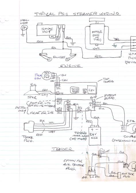 wiring diagram for protosounds board o railroading line
