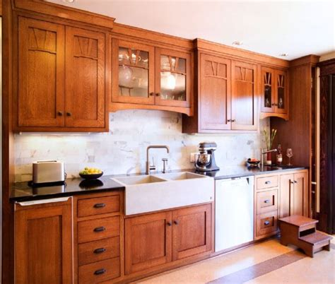 mission oak kitchen cabinets mission kitchens insteading 7536