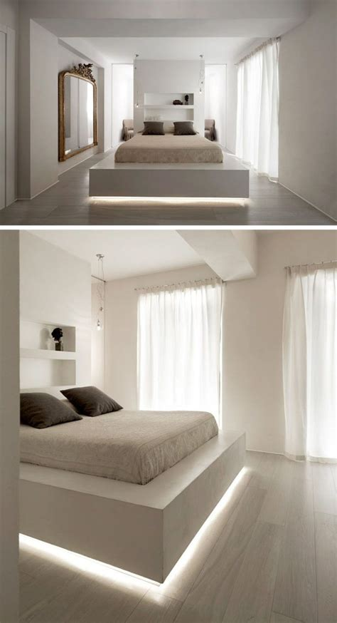 bedrooms  beds  feature hidden lighting