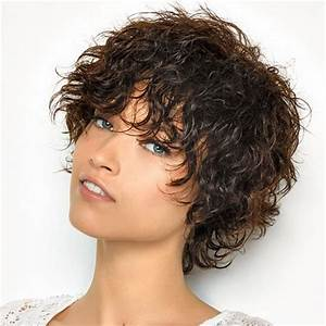Coupe Courte Cheveux Bouclés : coupe cheveux courts ondul s ~ Melissatoandfro.com Idées de Décoration