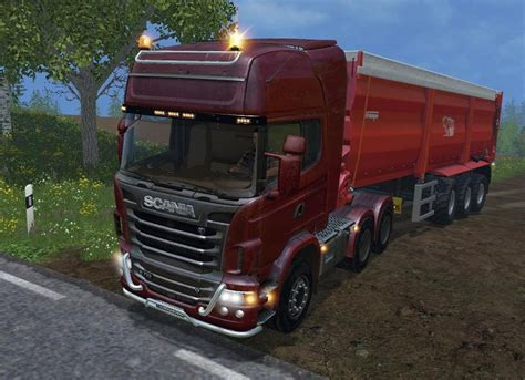 Top Selling Truck 2015 by Scania R730 Top Line Truck V 6 0 Farming Simulator 2015