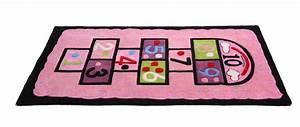 tapis chambre fille rose 80x150 marelle miliboo With tapis fille rose