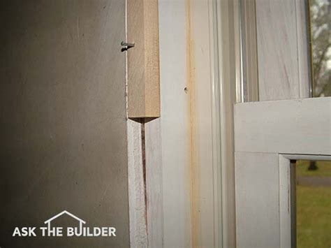 extending door jambs how to replace paneling with drywall ask the builder
