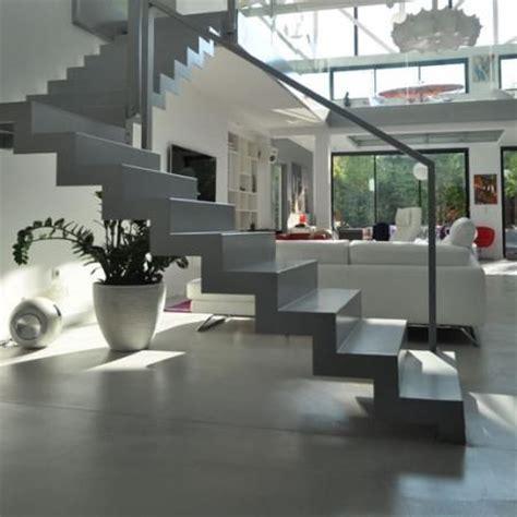 escalier beton pret a poser maison design bahbe