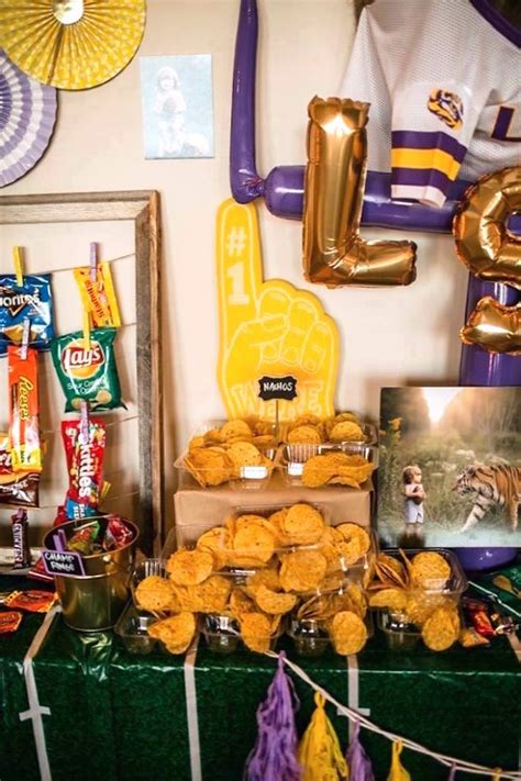 Kara's Party Ideas Lsu Football Party  Kara's Party Ideas. Bamboo Decor. Studio Rooms For Rent. Chandelier Dining Room. Large Room Heater. Graduation Decoration Ideas. Outdoor Wall Decor Diy. Decorative Strawberries. Decorative Metal Disc Wall Art