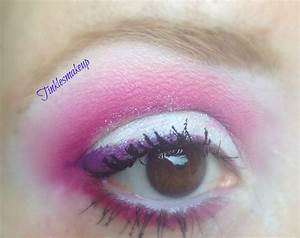 Tinklesmakeup: Pink winter fairy eye makeup