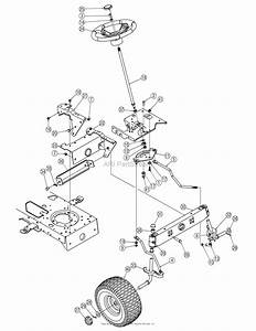 Mtd 13an601h729  2006  Parts Diagram For Steering