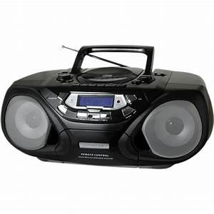 Radio Cd Kassette : qfx portable cd and cassette player with am fm radio j33 u b h ~ Jslefanu.com Haus und Dekorationen