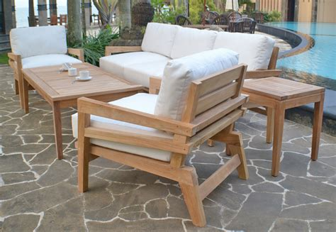 care of teak outdoor dining set front yard landscaping ideas