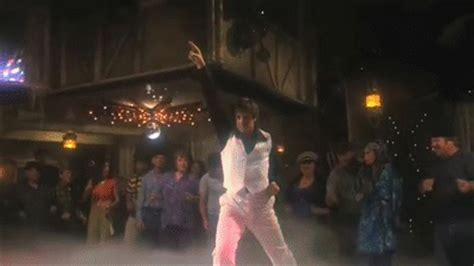 airplane staying alive    gif