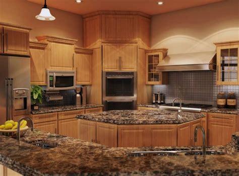 image result  quartz counter tops  oak cabinets
