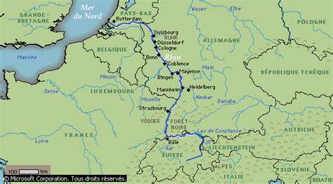 Carte Fleuve Rhin by Projet De Loi Autorisant La Ratification Du Protocole