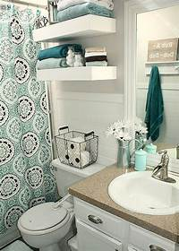 bathroom decorating ideas on a budget Pin by Jennifer Tinsley on Happy homes | First apartment ...
