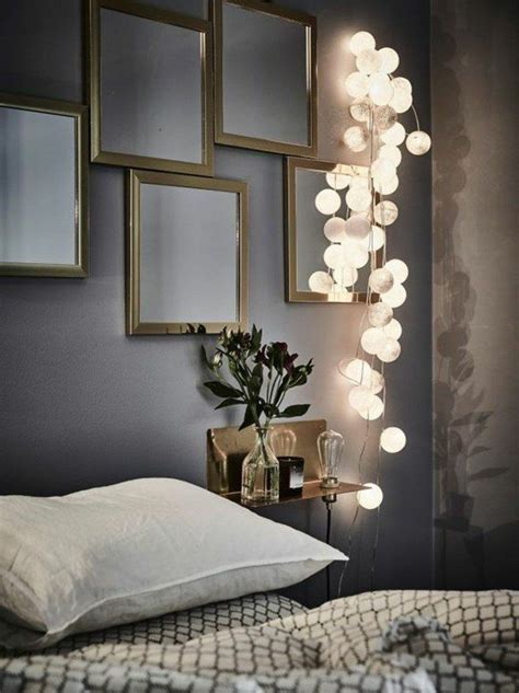 comment décorer une chambre à coucher adulte 25 best ideas about guirlande lumineuse chambre sur