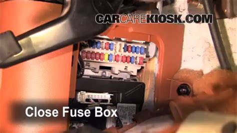 interior fuse box location 2003 2008 infiniti fx45 2004