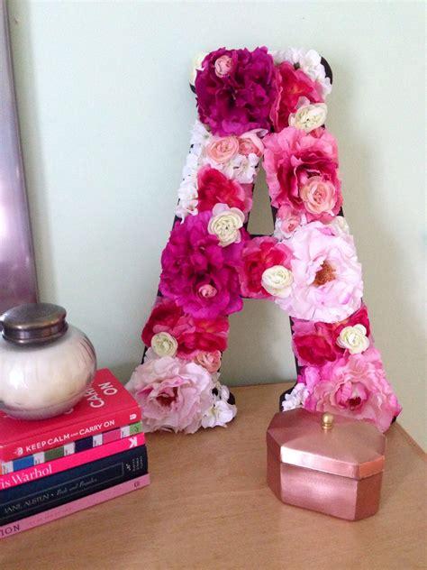 diy floral letter crafts diy floral letters diy crafts