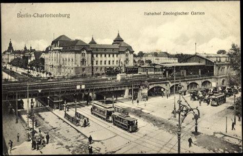Ansichtskarte / Postkarte Berlin Charlottenburg, Bahnhof