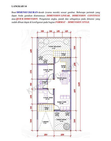 desain rumah minimalis format autocad mabudicom