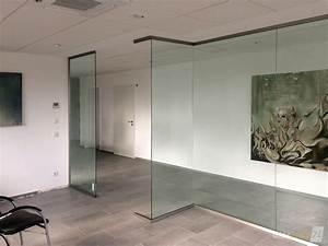 Trennwand Mit Glas : glas trennwand slim nach ma gefertigt glasprofi24 ~ Michelbontemps.com Haus und Dekorationen
