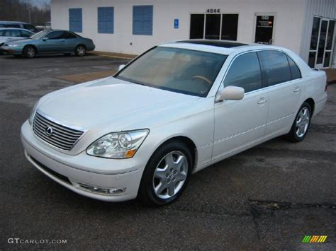lexus ls 2005 2005 crystal white lexus ls 430 sedan 43782062 gtcarlot