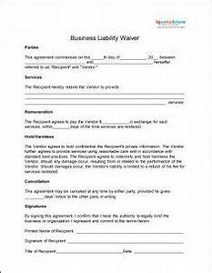 Liability Waiver Template | Free Word Templates ...