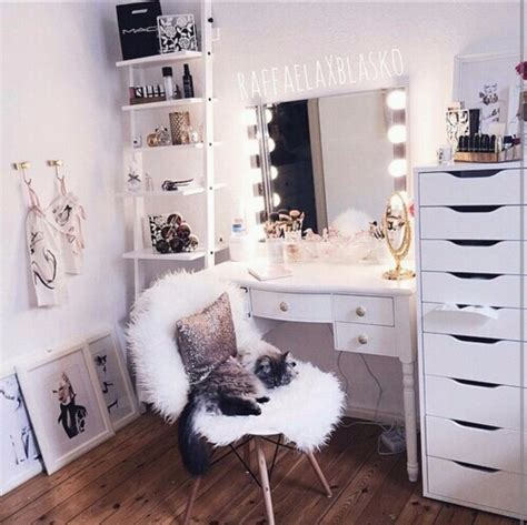 see through makeup desk things i love room goals