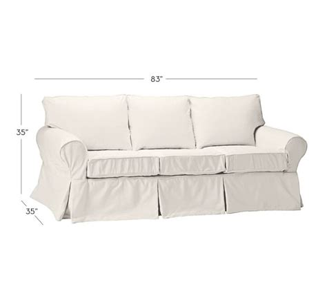 slipcovered sofas for sale sale pb basic slipcovered sleeper sofa pottery barn
