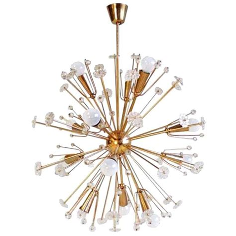 mid century emil stejnar quot starburst quot chandelier at 1stdibs