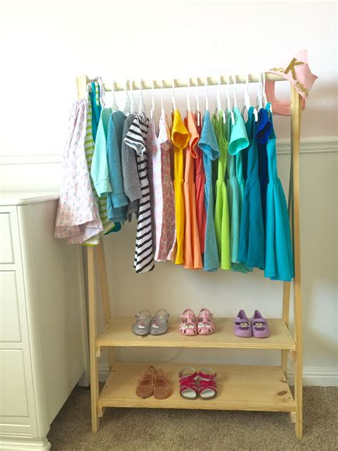 clothes racks for diy clothing rack this bliss
