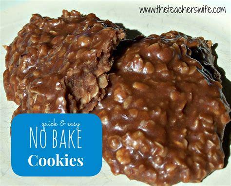 no bake no bake cookies the teacher s wife