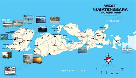 mandalika map west nusa tenggara map peta nusa