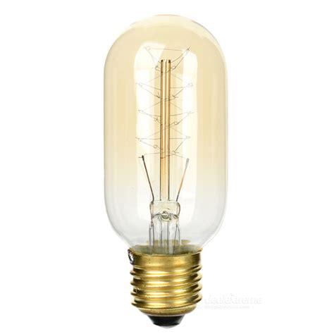 e27 40w tungsten filament bulb l warm white light 2070k
