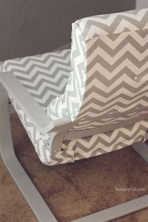 Poang Chair Cushion Diy by Nursery Ikea Poang Chair Recover How Joyful K I D S
