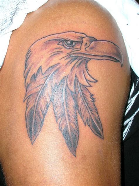 tatto eagle feather tattoo
