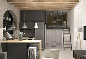 Amenagement Petite Surface Appartement Maison Design Bahbe