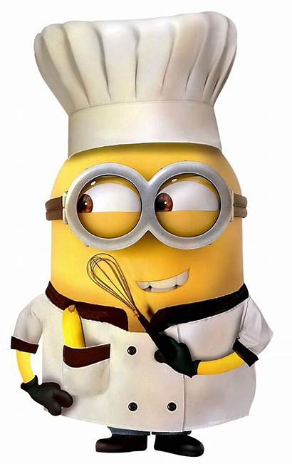 Minions Clipart Chef Transparent Background Minion Cozinheiro