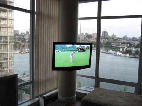 circular column tv mounting leslievillegeek tv