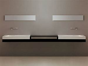 Plan De Toilette Bois : plan de toilette by gsg ceramic design ~ Teatrodelosmanantiales.com Idées de Décoration