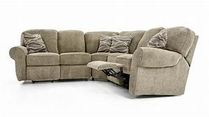 Lane megan 3 piece sectional sofa baer39s furniture for Megan 3 piece sectional sofa by lane