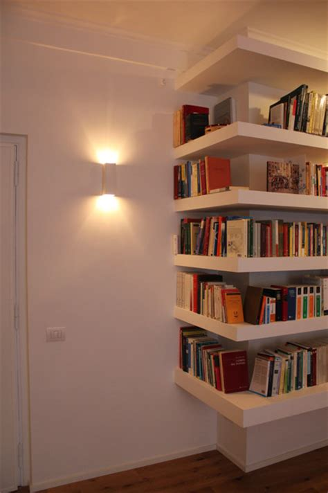 libreria in cartongesso libreria lineare in cartongesso