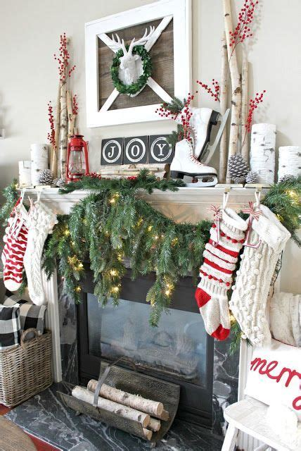 farmhouse christmas images  pinterest