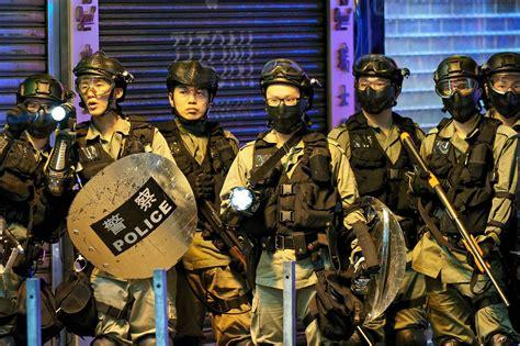 hong kong    police dictatorship green left
