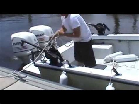 Boat Dock Bumpers Youtube by How To Dock Your Boat Using Quick Boat Fender Youtube