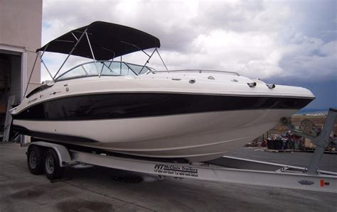 Hurricane Deck Boat Godfrey by 2008 Used Godfrey Hurricane 2600 Sd Deck Boat For Sale