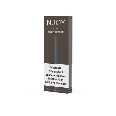 njoy daily  cig    electric tobacconist
